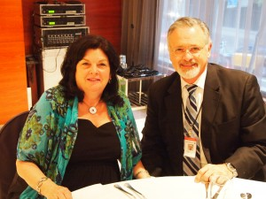 Tom and his wife, Laurie, in Barcelona, Spain attending an international meeting on polygraph in 2011.