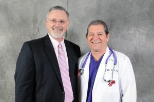 """Tom and Ray Semko AKA """"The D*I*C*E Man"""" before presenting at the ISAC Seminar in 2011 at the John's Hopkins APL, Laurel, MD"""